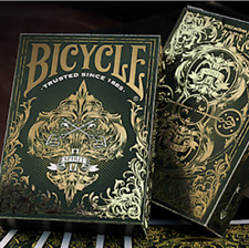 Bicycle Spirit II (Green) Playing Cards from Murphy's Magic