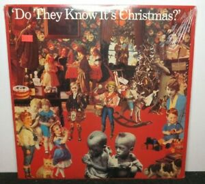 BAND AID DO THEY KNOW I'TS CHRISTMAS? (VG+) 44-05157  VINYL LP RECORD
