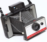 Vintage Polaroid 104 Instant Film Folding Camera Made in USA Fully Operational