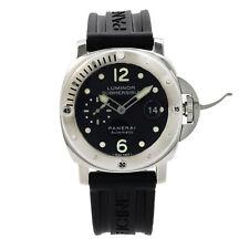 Panerai Luminor Sumergible Goma Reloj para Hombres Automático De Acero Inoxidable PAM00024
