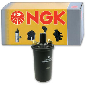 1 pc NGK Ignition Coil for 1969-1972 Renault R16 1.6L L4 - Spark Plug Tune fp
