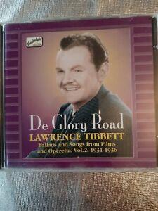 Lawrence Tibbett - De Glory Road (Ballads & Songs from Films & Operetta, Vol. 2…