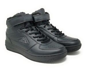 Kappa BASH MID Fourrure Homme Jeunes Baskets Chaussures de Sport Gr. 36-46