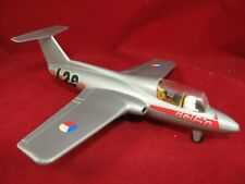 Czech Czechoslovakia L29 Delfin jet fighter trainer plastic toy friction plane