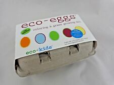 Easter Eco Eggs Coloring Grass Growing Kit 6 Boxes Organic Natural Extracts
