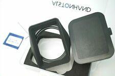 ALSTONHAND 49mm Metal Lens Hood & Cap for Leica Q Fuji TX 45mm/F4 XT-1 XT-2 LENS