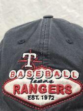 Texas Rangers Strapback Hat Las Vegas Marquee Sign MLB Adjustable Baseball Cap