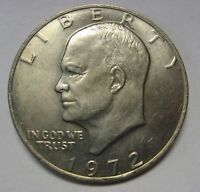 1972 Eisenhower Ike Dollar Uncirculated Condition Nice Higher End Coin   DUTCH