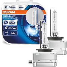 DUO OSRAM D1S Xenon Brenner COOL BLUE INTENSE 6000 KELVIN XENARC 2er