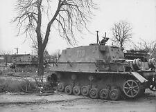WW2 Photo WWII  Abandoned German Brummbar  World War Two Wehrmacht / 4165