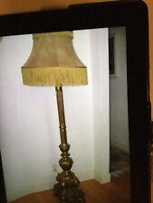 New listing Rare Antique Floor Lamp,Circa 1800's, Brown Palace Hotel,Original Shade & Finish
