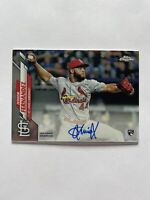 2020 Topps Chrome Junior Fernandez Cardinals Autographed Rookie Card #RA-JFE