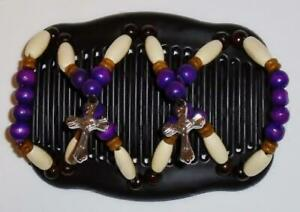 """Angel Wings Hair Clips 4x3.5"""", African Butterfly Style, Magic Combs, Quality S81"""