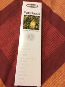 PATCHOULI INCENSE STICKS 25g Box Nitiraj Platinum Natural Fair Trade Premium Jos