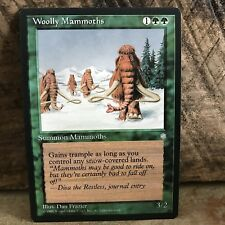 MTG NM Ice Age Expansion , Wooly Mammoths