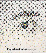 AA.VV.  English art today 1960- 76 catalogo mostra Milano 1976  L5398