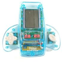PORTABLE BLUE POCKET HAND HELD ELECTRONIC VIDEO GAME PLAYER SYSTEM WITH 11 GAMES