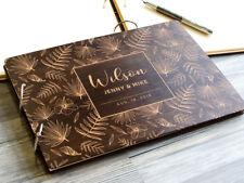 Tropical Wedding Guest Book Palm Leaves Wedding Guestbook Beach Wedding Album