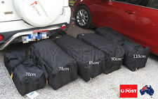CANVAS DUFFLE BAG Overnight Travel Carry Sports Gym Tote Camp 38-180L 70-110CM