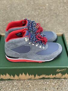 Danner Jag Steel Gray/blue Wing Teal Hiker Boots Shoe size 9.5 D Men's 37352