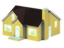 Lionel Bungalow House Yellow   82008