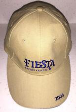 FIESTA Hotel & Casino NV TAN ball cap baseball hat players club souvenir 2005