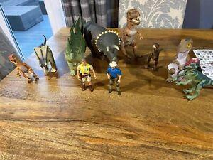 Vintage kenner 1993 Jurassic Park figures and dinosaur bundle