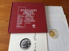 SCHUMANN  / R.GIANOLI piano 6 LP Box ADES 7051/6 STEREO