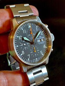 Fortis Pilot Flieger Chronograph Automatic Watch