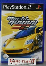 World Racing 2 Playstation 2 NEUWERTIG 1-2 Spieler OVP Autorennen TDK Playlogic
