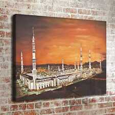 Muslim Pilgrimage Site Home Decor Room HD Canvas Print Picture Wall Art Painting