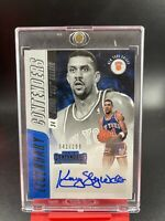2018-19 Panini Contenders Kenny Walker Legendary Auto SP To /199