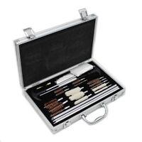 126pcs Universal Shotguns Barrel Cleaning Kit Firearm Pistol Rifle Cleaner Set