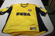 Camiseta Vintage 1999 ARSENAL FC Gunners 4 PATRICK VIEIRA Away NIKE Size L SEGA