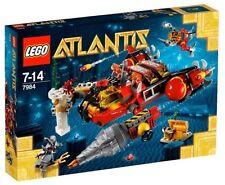 Lego Atlantis 7984 DEEP SEA RAIDER Hammerhead Minifigs NISB