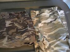 Junior Size 7 Camouflage Shorts And Capris