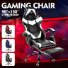 Executive Office Chair Gaming Chair Computer Desk Seat Leather Swivel Task Chair