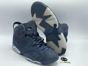 "Nike Air Jordan 6 Retro ""Diffused Blue"" Size 8.5 384664-400 FREE SHIPPING"