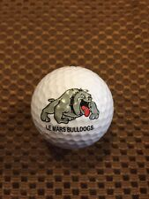 Logo Golf Ball-Le Mars High School Bulldogs.Iowa