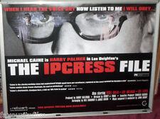 Cinema Poster: IPCRESS FILE, THE 1965 (2005 RR Quad) Michael Caine Nigel Green
