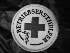 Primero funcionamiento aproximadamente ayudante emblema cruz roja-emblema Patch Patch nuevo