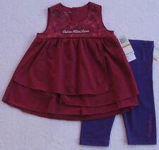 NWT Calvin Klein Girls Two Piece Dress Set(Size 18Months) NEW