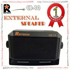 RETECH CB-10 Speaker For KENWOOD KES3 SP50 YAESU MLS-100 ICOM IC-SP10 Ham Radio