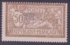 "FRANCE N°120 b ""MERSON 50c CENTRE DEPLACE"" NEUFxx TTB"
