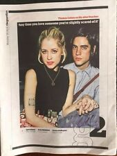 UK G2 Supplement 18th April 2016 Thomas Cohen on life after Peaches Geldof