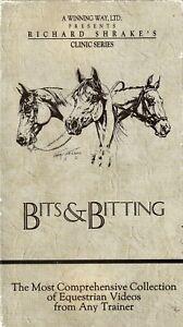 Bits & Bitting: Richard Shrake - Equestrain  - horse training (VHS)