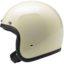 Biltwell Bonanza Open Face Motorcycle Helmet - Choose Size & Color