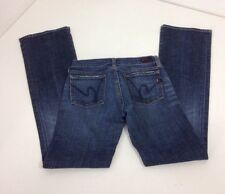 CITIZENS OF HUMANITY WOMEN'S KELLY #001 STRETCH LOW WAIST BOOT CUT JEANS SZ 26