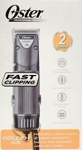 Oster Professional 78005-140 Golden A5 2 Speed Heavy Duty Clipper w/ #10 Blade