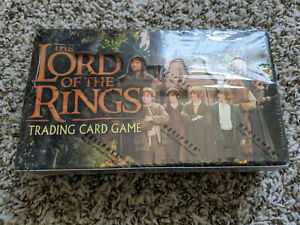 LOTR Lord of the Rings TCG - Fellowship of the Ring FOTR Booster Box Sealed
